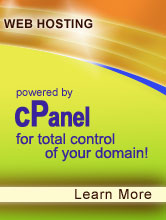 Web Hosting powered by cPanel